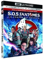 Jaquette S.O.S Fantômes (4K Ultra HD + Blu-ray 3D + Blu-ray 2D Version Longue)