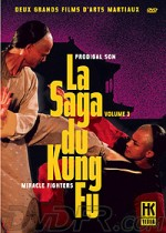 Jaquette Saga du Kung Fu Volume 3 : Prodigal Son & Miracle Fighters  (Coffret 2 DVD)