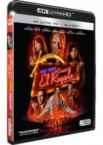 Jaquette Sale temps à l'hôtel El Royale (4K Ultra HD + Blu-ray)