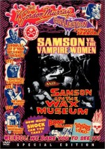 Jaquette SAMSON VS. THE VAMPIRE WOMEN/ SAMSON IN THE WAX MUSEUM EPUISE/OUT OF PRINT