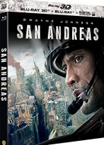 Jaquette San Andreas (Combo Blu-ray 3D + Blu-ray)