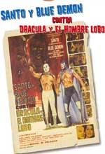Jaquette SANTO AND BLUE DEMON VS. DRACULA AND THE WOLFMAN