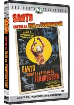 Jaquette SANTO VS. FRANKENSTEIN'S DAUGHTER