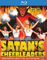 Jaquette Satan's Cheerleaders (DVD + Blu-Ray)