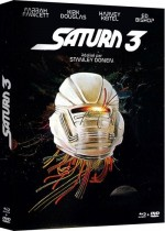 Jaquette Saturn 3 (Blu-ray + DVD)