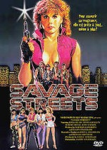 Jaquette Savage Streets EPUISE/OUT OF PRINT