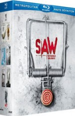 Jaquette Saw : L'int�grale 7 volumes (Director's Cut)