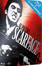Jaquette Scarface (Blu-ray + Copie Digitale)