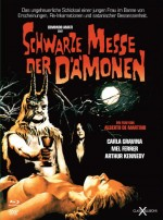 Jaquette Schwarze Messe Der D�monen (Mediabook: DVD + BLURAY)