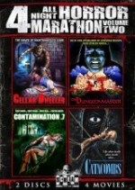 Jaquette Scream Factory All Night Horror Marathon, Vol. 2