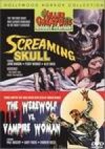Jaquette SCREAMING SKULL/THE WEREWOLF VS. VAMPIRE WOMAN