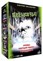 Jaquette Série Lucio Fulci (Edition Collector - Coffret 3 DVD)