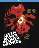 Jaquette Seven Blood Stained Orchids