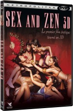 Jaquette Sex and Zen 3D