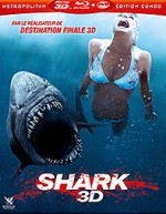 Jaquette Shark 3D (Blu-ray 3D + DVD)