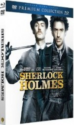 Jaquette Sherlock Holmes - Collection Premium - Combo Blu-ray + DVD + livret