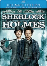 Jaquette Sherlock Holmes (Ultimate édition - Blu-ray + DVD + Copie digitale)