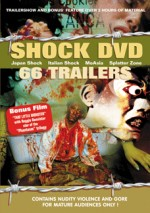 Jaquette Shock DVD 66 trailers EPUISE/OUT OF PRINT