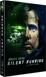 Jaquette Silent Running (�dition Collector Blu-ray + DVD + Livre)