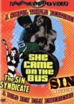 Jaquette Sin Syndicate / Sin Magazine / She Came on the Bus