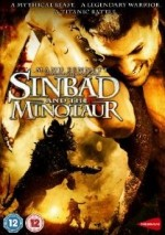 Jaquette Sinbad and the Minotaur