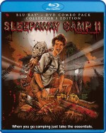 Jaquette Sleepaway Camp 2 Unhappy Campers (DVD / Blu-Ray Combo)
