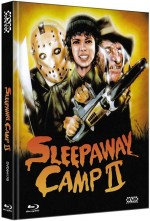 Jaquette Sleepaway Camp II: Unhappy Campers (Blu-Ray+DVD) Cover B
