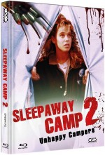 Jaquette Sleepaway Camp II: Unhappy Campers (Blu-Ray+DVD) Cover C