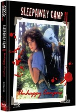 Jaquette Sleepaway Camp II: Unhappy Campers (Blu-Ray+DVD) Cover D