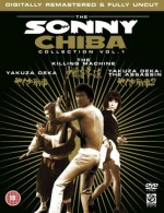 Jaquette Sonny Chiba Collection Volume 1