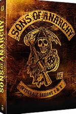 Jaquette Sons of Anarchy - L'int�grale des saisons 1 & 2