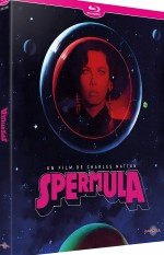 Jaquette Spermula (bluray)