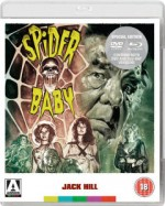 Jaquette Spider Baby (Blu Ray + DVD)