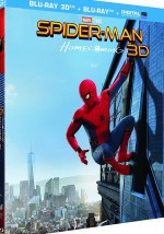 Jaquette Spider-Man : Homecoming [Blu-ray 3D + Blu-ray + Digital UltraViolet]