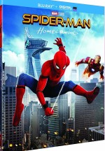 Jaquette Spider-Man : Homecoming [Blu-ray + Digital UltraViolet + Comic Book]