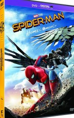 Jaquette Spider-Man : Homecoming [DVD + Digital UltraViolet + Comic Book]
