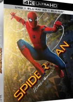 Jaquette Spider-Man : Homecoming - UHD + BD 3D + BD
