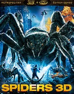 Jaquette Spiders (Combo Blu-ray 3D + DVD)