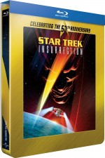 Jaquette Star Trek : Insurrection (50�me anniversaire Star Trek - �dition bo�tier SteelBook)