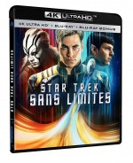 Jaquette Star Trek Sans limites (4K Ultra HD + Blu-ray)