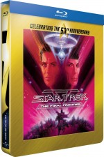 Jaquette Star Trek V : L'ultime fronti�re (50�me anniversaire Star Trek - �dition bo�tier SteelBook)