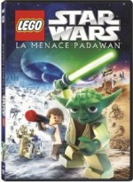 Jaquette Star Wars LEGO : La menace Padawan