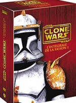 Jaquette Star Wars - The Clone Wars - Saison 1 (coffret 4 DVD)
