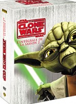 Jaquette Star Wars - The Clone Wars - Saison 2 (coffret 4 DVD)