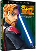 Jaquette Star Wars - The Clone Wars - Saison 5