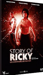 Jaquette Story of Ricky - Les aventures de Riki-Oh