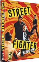 Jaquette Streetfighter - L'int�grale (Edition Collector - Coffret 4 DVD)