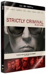 Jaquette Strictly Criminal (Combo Blu-ray + DVD - Édition boîtier SteelBook)