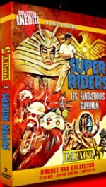 Jaquette Super Riders + Impact 5 EPUISE/OUT OF PRINT