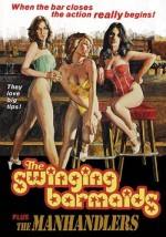 Jaquette Swinging Barmaids/Manhandlers EPUISE/OUT OF PRINT